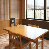 テーブル席・座敷は各8人まで利用可能