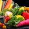 彩り豊かな国産野菜を厳選。珍しい新野菜も豊富