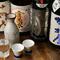 全国各地の日本酒が豊富。お気に入りの銘酒で乾杯