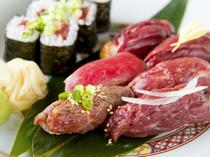 肉寿司をたっぷり楽しむ『おまかせ寿司』