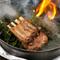 NZ産ラム肉スモークの演出が、期待を高めてくれる