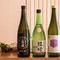 寿司との相性を考え、地元福岡の酒を中心にセレクト