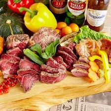 贅沢なお肉のフルコース『肉!肉!肉!肉好きのための5種MEAT盛り合わせ』