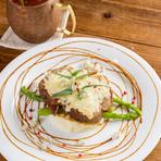 食べ応えと美味しさの追求『ローストポークブルーチーズ&バルサミコソース』