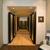 地上38階にある「天空の庭園」への入り口