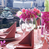【ルビー】大阪城を見下ろす完全個室 接待やお顔合わせにどうぞ