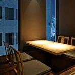 カップルにおすすめの完全個室。大人気カウンター個室も。