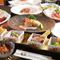 ヨーロッパ産の極上肉、日本各地の旬魚介や野菜などの厳選食材