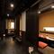 全室個室を設置、落ち着いた空間はビジネスシーンなど接待に最適