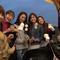 海に面した全天候型のテラスで楽しむバーベキュー女子会