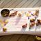 調理した食材を和紙に直置きする斬新なスタイル