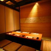 料理・設え・接客のすべてが第一級。東京駅近くでの接待にぜひ!