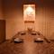 6名様まで入室可能な個室を1室、4名様までの半個室は3席ご用意