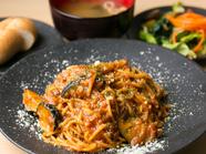 オリジナルの麺と日替わりソースが魅力『シェフの気まぐれパスタ』