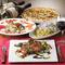 「鎌倉野菜」や「鮮魚」など、地元でとれた新鮮食材を堪能