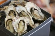 凝縮された牡蠣の旨みを堪能できる『牡蠣のガンガン焼き』