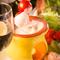 スイスの郷土料理を味わえる、コース一番人気メニュー『チーズフォンデュ』