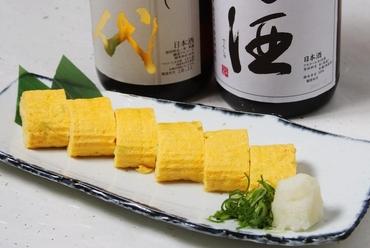 優しい味わい『黄ニラの出汁巻』