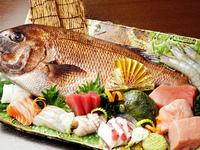 新鮮な魚介類の刺身をリーズナブルに楽しめる『造り』