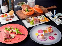 「長崎」の食材と、中国、オランダ、ポルトガルなどの国から伝えられた食文化との融合を表現した料理。