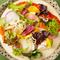 鮮魚と新鮮な旬の野菜を使った『酵素サラダと前菜盛り合せ』