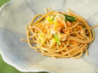 グルテンフリー、グルテンレスのパスタを季節の野菜と堪能