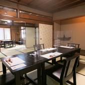 個室を広げれば、開放感のある和の趣き溢れる座敷に変身