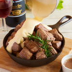 【肉料理】MARUGOの1ポンドステーキ