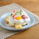 定食メニューだけでなくスイーツにもこだわっております。北海道・十勝産の濃厚なクリームをベースにしたショートケーキは女性に大好評。お食事の後に珈琲といかがでしょうか。