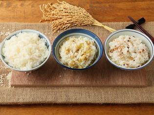 1、2位を争う米粒の大きさ!ほんのり飴色の「ハツシモ」のご飯