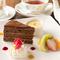 午後のカフェタイムに人気の『デザート盛り合わせ』