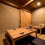 髙濱料理長は福岡・北九州などの日本料理店で経験を積み、漁港に揚がる獲れたて鮮魚の旨さを地元で提供したいと構想。2018年【炉ばた髙】でその夢を叶えました。一流の味を気軽に体験できます!