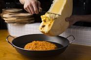 チーズタッカルビの〆に『ラクレットチーズのせクリームリゾット』