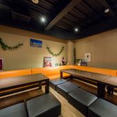 ハワイのビールやこだわりのトロピカルカクテルも豊富に用意