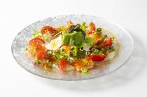 鮮魚のカルパッチョサラダ