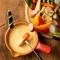どんな食材とも合う手作りチーズソースで『チーズフォンデュ』