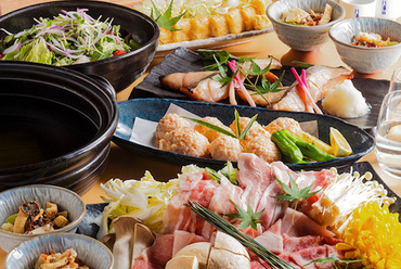 旬の食材で彩る本格和食コース