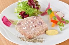 メインの「魚」「肉」どちらも食べたい方におススメ!ご満足いただけるコースです!