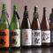 独自のこだわりで全国から厳選された日本酒が豊富なラインナップ