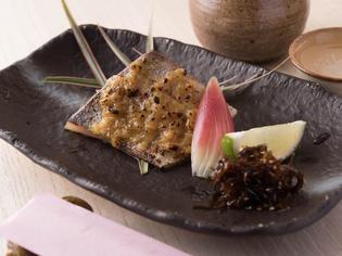 旬の魚を使用した『焼き物』