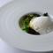『輪島産 甘鯛の松笠焼き 自然栽培菜花のトルテリーニと海のブイヨン』