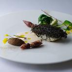 海と大地の恵みを味わい尽くす『柴垣産天然岩牡蠣の冷製』