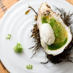 柴垣産天然岩牡蠣の冷製