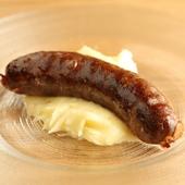 新鮮な肉の旨味がスモークで深みを増した『北海道産エゾシカの自家製スモークソーセージ』
