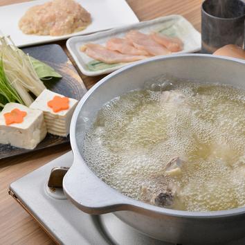 ◇刀根鶏の鶏炊きコース 3500円