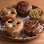 デザートとしてはもちろん、テイクアウト商品としても大人気『米粉マフィン各種』
