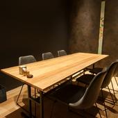 多彩な用途に合わせて利用できる、落ち着いた完全個室と半個室