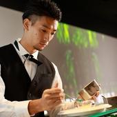 和食と分子ガストロノミーの融合 日本料理の新境地をご覧下さい
