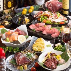 大満足頂けるお得な宴会コースです。名物の雲丹のせ和牛ステーキなどがついた大満足の宴会コースです!