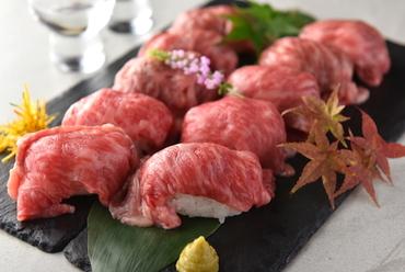 炙り肉寿司10種食べ放題